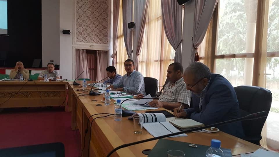 اجتماع اللجان الدائمة في اطار الاعداد للدورة العادية لمجلس العمالة