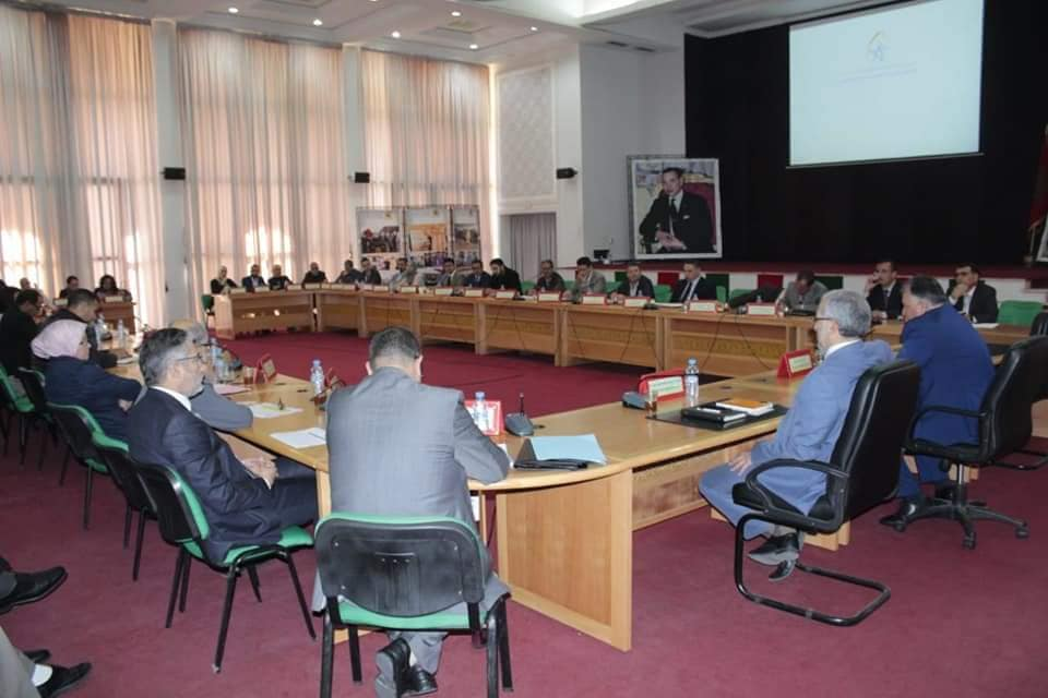اجتماع اللجنة الإقليمية للمبادرة الوطنية للتنمية البشرية